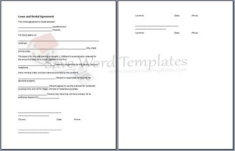 Template For Agreement Between Two Parties Agreement Template Category Page 3 Efoza Com