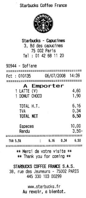 Starbucks Price in France | $10.20 for a Venti Latte and a