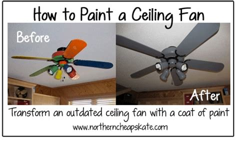 How To Paint A Ceiling Fan by How To Paint A Ceiling Fan Diy Crafts