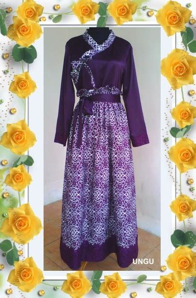 Hanbok Katun gamis batik hanbok jual jilbab grosir dan jasa konveksi