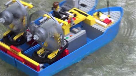 lego boat rc lego air boat rc by 252 fchen youtube