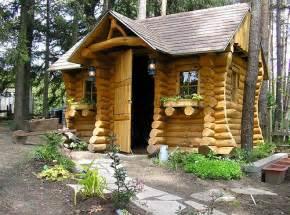 fully scribed log cabin our garden shed flickr photo