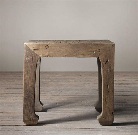 restoration hardware side table 17th c ming dynasty side table i restoration hardware