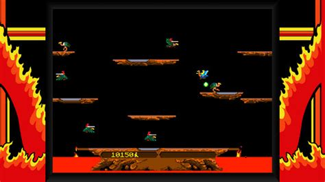 Joust Kidding by Midway Arcade Origins Now In Stores For 360 And Ps3 The
