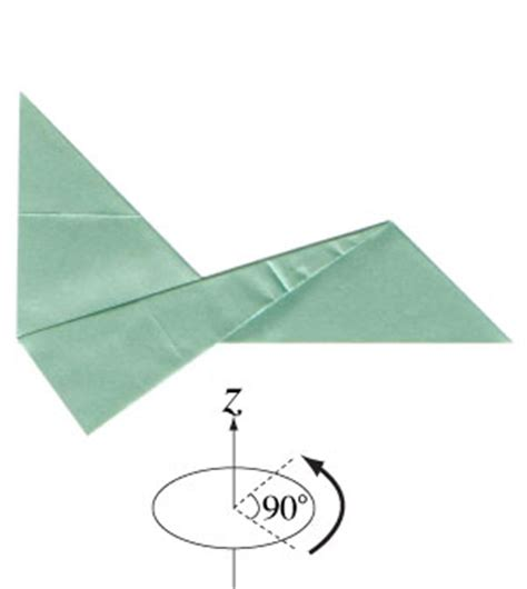 Origami Jet Easy - how to make a simple jet plane page 7