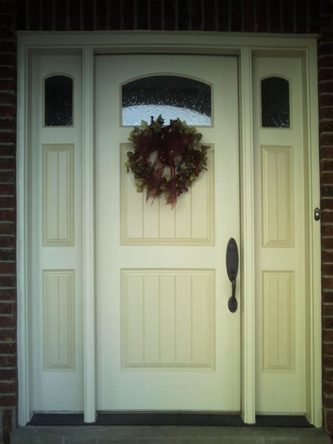painted front door painted wood entrance door