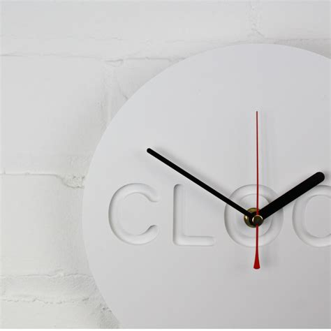 minimalist clock minimalist clock o clock homeware furniture and gifts