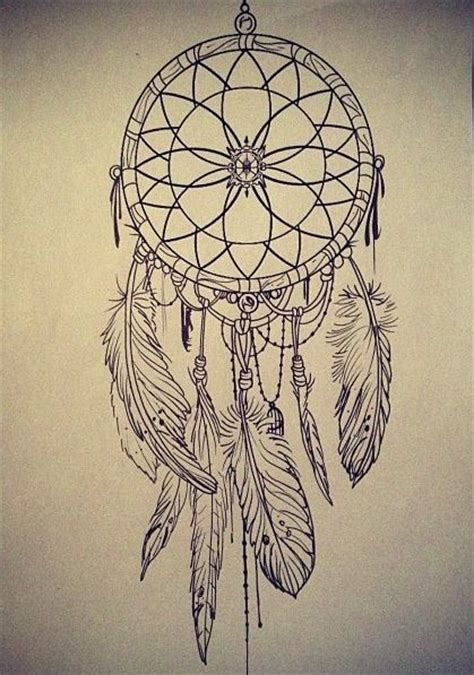dreamcatcher tattoo drawing dreamcatcher sketch google search tattoo mania