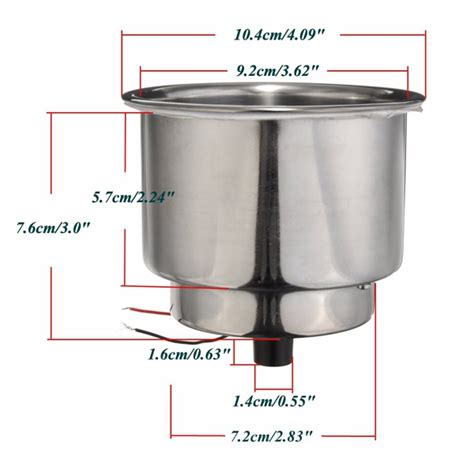 boat drink holders canada led stainless steel cup drink holder for marine boat car