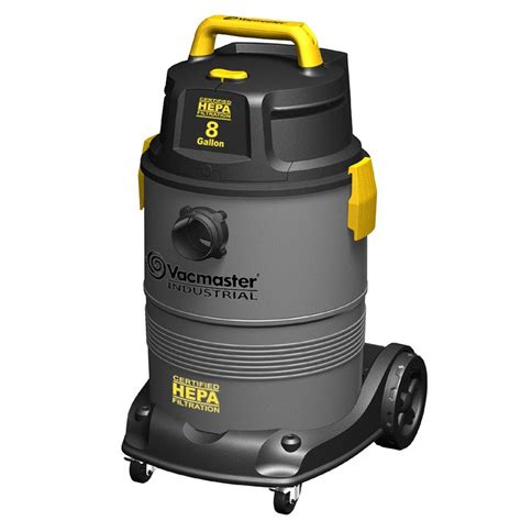 how to vacuum vacmaster 8 gal hepa industrial wet dry vac with 2 stage