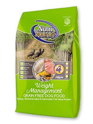 weight management food grain free food nutrisource pet foods