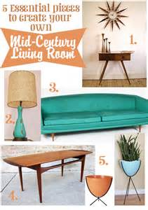 create your own living room oh so lovely vintage create your own mid century living room