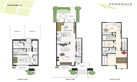story townhouse floor plans story townhouse floor plan two story townhouse floor plans modern townhouse floor