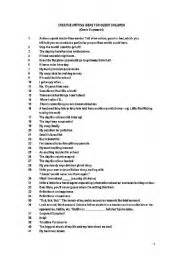 List Of Essay Writing Topics by List Of Creative Writing Topics For Juniors 4 Pages