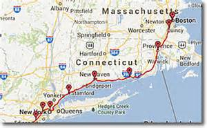 distance new york to boston by car amtrak acela express trains in new