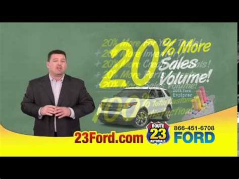 rt 23 ford rt 23 ford in butler nj offers 20 more for your trade