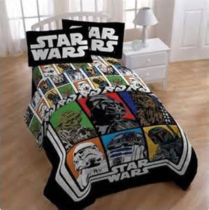 Star Wars Bedroom Set 5 piece star wars bedding full size comforter sheets set