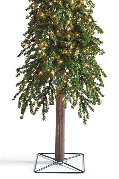 grandin roadtrees christmas artificial pre lit evergreen alpine trees grandin road