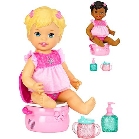 Baby Doll With Potty Chair by Princess Potty Doll Walmart