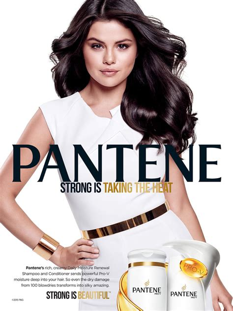 hair commercials selena gomez pantene haircare advertisement 2015 hair by