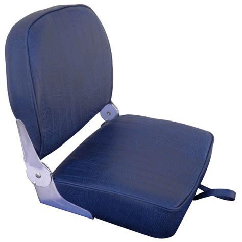 siege rabattable si 232 ge fauteuil pilotage pour bateau vedette ou semi rigide mousse bleu