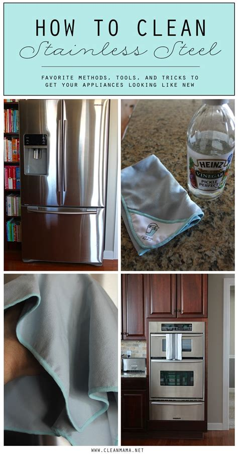 disinfect stainless steel how do i clean stainless steel refrigerator best