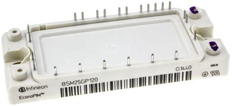 Igbt Infineon Bsm25gp120 bsm25gp120 infineon bsm25gp120 igbt module 3 phase 45 a max 1200 v 24 pin infineon