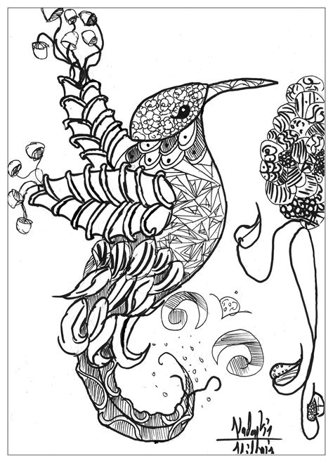 free online coloring pages for adults animals detailed animal coloring pages for adults coloring home