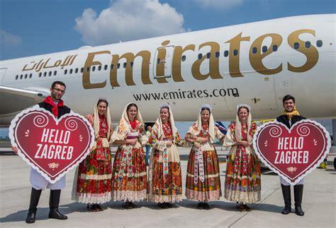 emirates zagreb dubai emirates touches down in croatia travelandtourworld