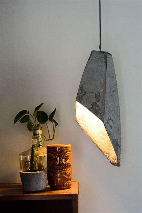 diy concrete illuminators hanging concrete l
