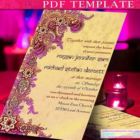 indian wedding invitation template 285 best images about wedding invitations favors