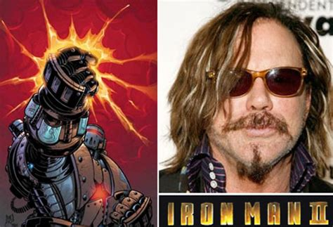 actor iron man nombre mickey rourke uno de los villanos de iron man 2