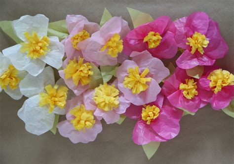 simple tissue paper flowers finding the extraordinary in