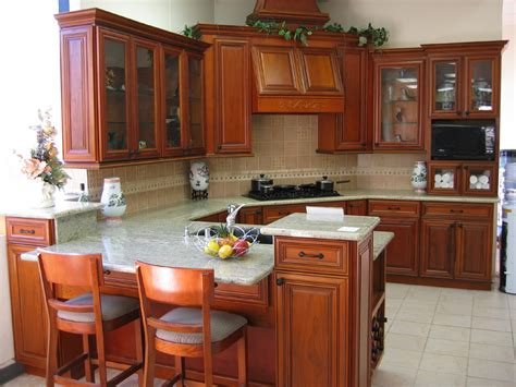 Cherry Wood Kitchen Cabinets by Kitchen Image Kitchen Bathroom Design Center