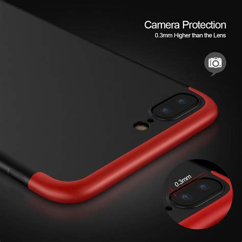 Oppo F5 Hardcase 360 Original Gkk Free Tempered Glass 360 Protection Phone For Apple Iphone 8 8 Plus