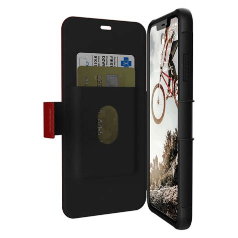 uag metropolis iphone xs max rugged wallet magma