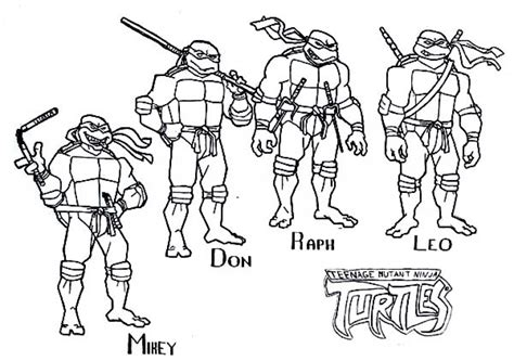 get this free teenage mutant ninja turtles coloring pages