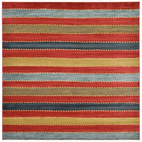 10 5 X 10 5 Square Ft Rug by Unique Loom Multi 10 Ft X 10 Ft Nomad Square Area Rug