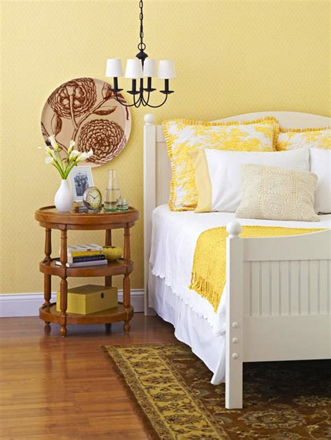 Yellow Walls In Bedroom by Modern Furniture 2011 Bedroom Decorating Ideas With