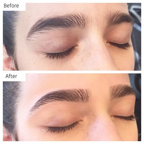 tattooed eyebrows before and after eyebrow doctor eyebrow brows by piret brow