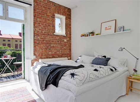 brick bedroom 35 scandinavian bedroom ideas that looks beautiful modern