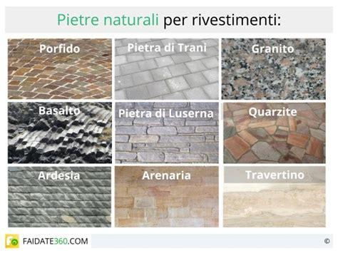 tipi di piastrelle per interni rivestimenti in pietra naturale o ricostruita per