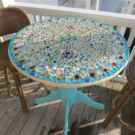 outdoor mosaic accent table mosaic patio tables tedx decors the beautiful of