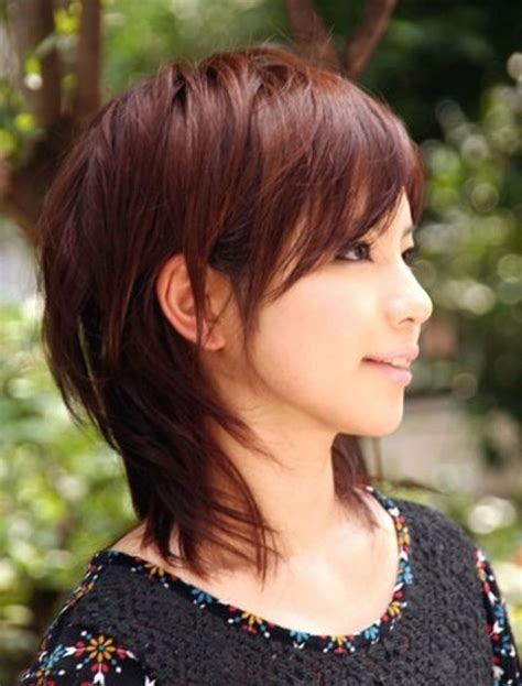mid length hairstyles for asian women asian girl with shoulder length hairstyles women medium