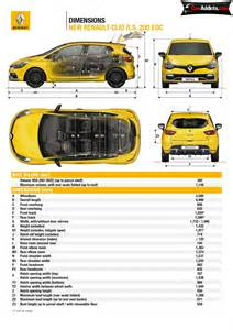 Renault Clio Dimensions 2013 Renault Clio Rs Price Wallpaper