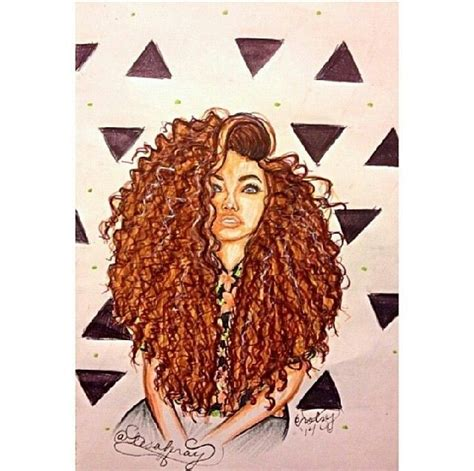 drawing curly hair drawn curl natural curly hair pencil and in color drawn