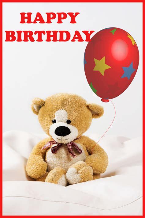 printable birthday cards teddy bear free birthday cards with teddy bears birthday party
