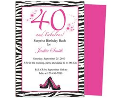 40th birthday invitation templates free 40th birthday invites fabulous 40th birthday invitation