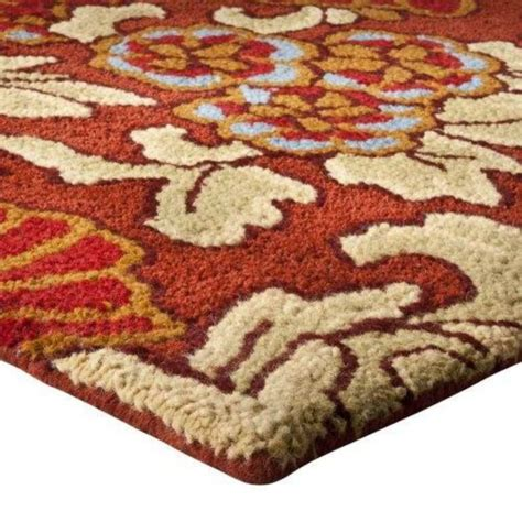 target wool rug 350 target fieldcrest luxury floral tapestry room rug wool 6 6 quot x10 78x120 quot rugs carpets