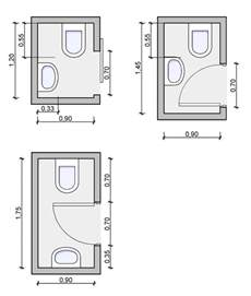 bathroom floor plans by size types of bathrooms and layouts